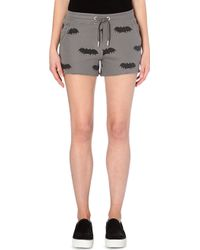 Zoe Karssen Bat Jersey Shorts - Lyst