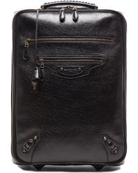 Balenciaga Black Carry On - Lyst