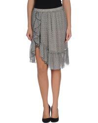 Isabel Marant Knee Length Skirt - Lyst