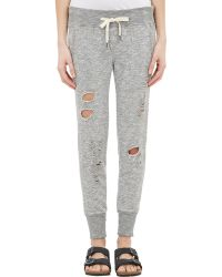 Bliss and Mischief - Destroyed Joggers - Lyst