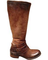 Freebird By Steven Irish Bovine Leather Boots - Lyst