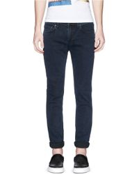 Acne | 'ace' Stretch Skinny Jeans | Lyst