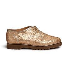 Charlotte Olympia   'stefania' Glitter Oxfords   Lyst