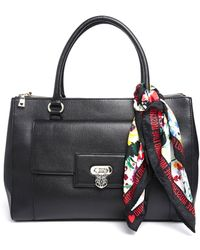 Love Moschino Handheld Bag with Detachable Scarf - Lyst