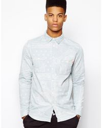 Criminal Damage - Bandana Shirt - Lyst