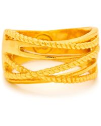 Gorjana & Griffin Gold Marin Ring - Lyst