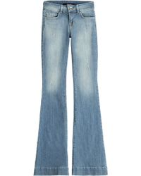 J Brand Flared Jeans - Lyst