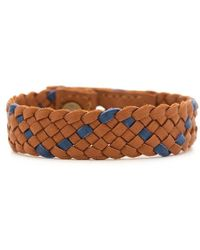 Gorjana & Griffin Finn Leather Bracelet  - Lyst