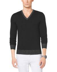 Michael Kors V-Neck Sweater - Lyst