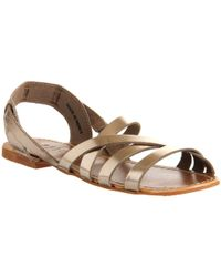 Office Hideout Flat Slip On Sandals - Lyst