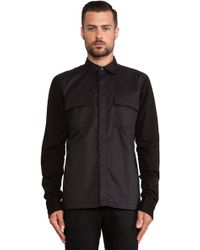 Hudson The Military Shirt Jacket - Lyst