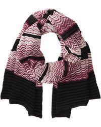 Missoni Pink scarves - Lyst