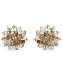 J.Crew | Jeweled Geometric Earrings | Lyst