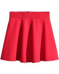 H&M Circular Skirt - Lyst