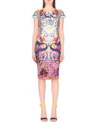Mary Katrantzou Neoprene Floral-Print Dress - For Women multicolor - Lyst