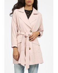 Bb Dakota Brydon Trench Coat beige - Lyst