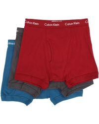 Calvin Klein Cotton Classic Boxer Brief 3-Pack Nu3019 - Lyst