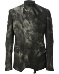 Tom Rebl Blotchy Checked Jacket - Lyst