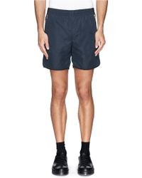 Tim Coppens - Contrast Back Yoke Shorts - Lyst