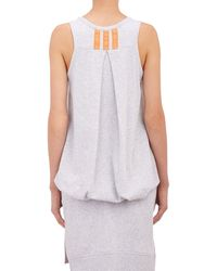 Y-3 Reverse French Terry Tank - Lyst