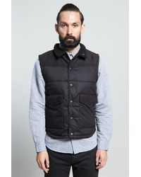 Vanishing Elephant Workers Puffer Vest - Lyst