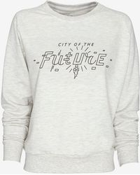 Eleven Paris Exclusive City Of The Future Sweatshirt - Lyst