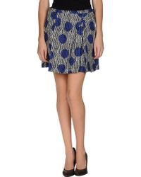 Sonia by Sonia Rykiel Mini Skirt - Lyst