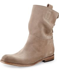 Alberto Fermani Umbria Back Detail Ankle Boot - Lyst