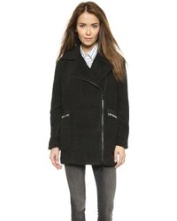 Elizabeth And James Dawson Coat - Black - Lyst
