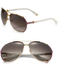 Dior Chicago Aviator Sunglasses - Lyst