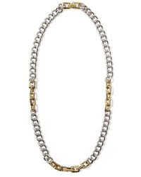 Sam Edelman Long Chain Link Necklace - Lyst