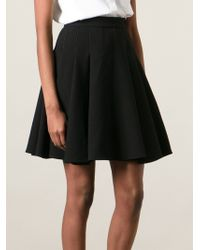 Ermanno Scervino Pleated Mini Skirt - Lyst