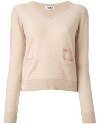 Sonia By Sonia Rykiel Pocket Sweater - Lyst