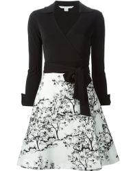 Diane von Furstenberg 'Amelianna' Wrap Dress - Lyst