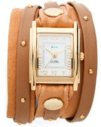 La Mer Collections - Studded Wrap Watch - Lyst