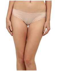 Stella McCartney Pink Smooth Bikini - Lyst