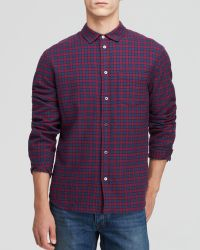 Marc By Marc Jacobs Check Flannel Button Down Shirt - Slim Fit - Lyst
