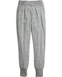 Madewell Sleekline Sweatpants - Lyst