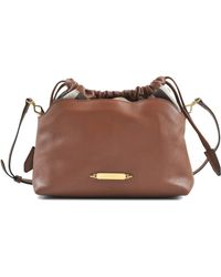 Burberry Little Crush House Check Bag - Lyst