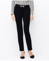 Ann Taylor Stretch Ankle Pants - Lyst