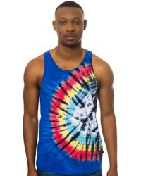 Obey The Twist Tank - Lyst