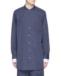3.1 Phillip Lim | Double Layer Sleeve Long Stripe Shirt | Lyst