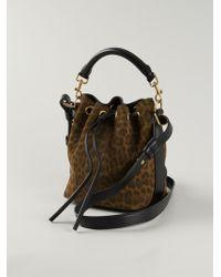 Saint Laurent Emmanuelle Small Calf-Leather Bucket Bag - Lyst
