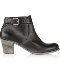 NDC Emelita Leather Ankle Boots - Lyst