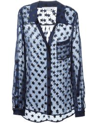 Diane Von Furstenberg Stars Pattern Shirt - Lyst