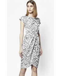 French Connection | Leo Jacquard Print Dress | Lyst