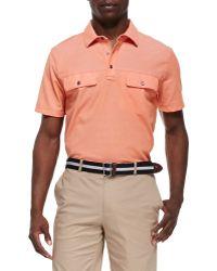 Michael Kors Twopocket Polo Shirt - Lyst