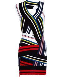 Preen Knit Rib Tabia Dress in Multi - Lyst