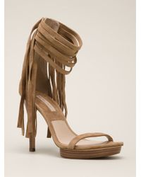 Michael Kors Brown Daphne Sandals - Lyst