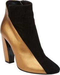 Pierre Hardy Asymmetric-Seam Ankle Boots - Lyst
